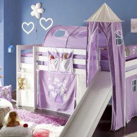 Textilní věž k posteli ARNIKA KŮŇ A PRINCEZNA