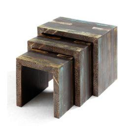 Přístavné stolky – set 3 ks GOA 3528