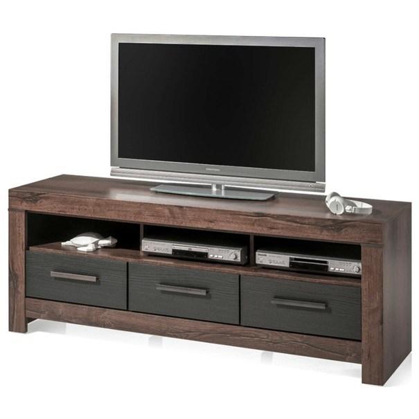 Sconto TV stolek BALIN dub canyon/černý dub