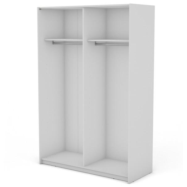 Sconto Korpus skříně BOSTON bílá/šířka 150 cm