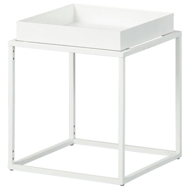 Sconto Přístavný stolek CLUB NY bílá
