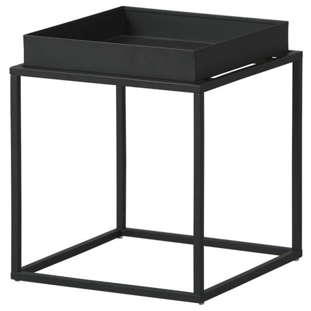 Sconto Přístavný stolek CLUB NY černá