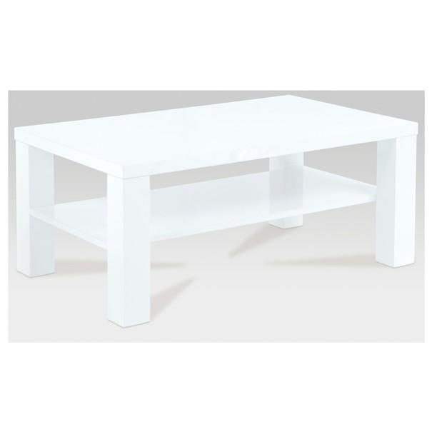 Sconto Konferenční stolek CORDOBA bílá vysoký lesk