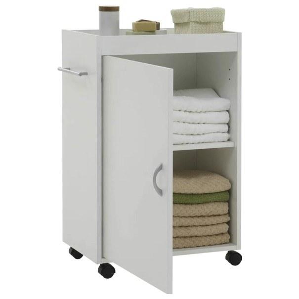 Sconto Koupelnová skříňka CORDOBA bílá