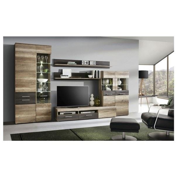 Sconto Obývací stěna DANTE dub antik/touchwood