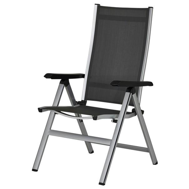 Sconto Zahradní židle ELEMENTS 2 stříbrná/antracit