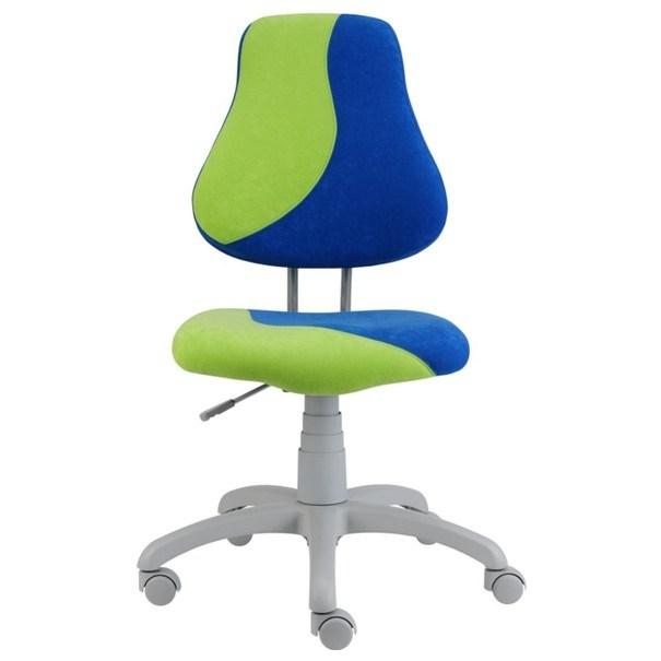 Sconto Dětská židle ELEN S-LINE modro-zelená