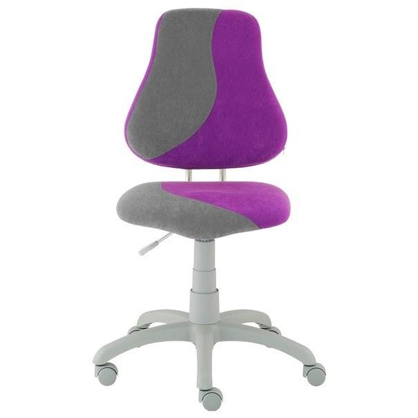 Sconto Dětská židle ELEN S-LINE fialovo-šedá