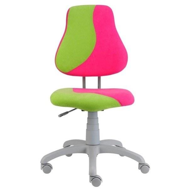 Sconto Dětská židle ELEN S-LINE růžovo-zelená
