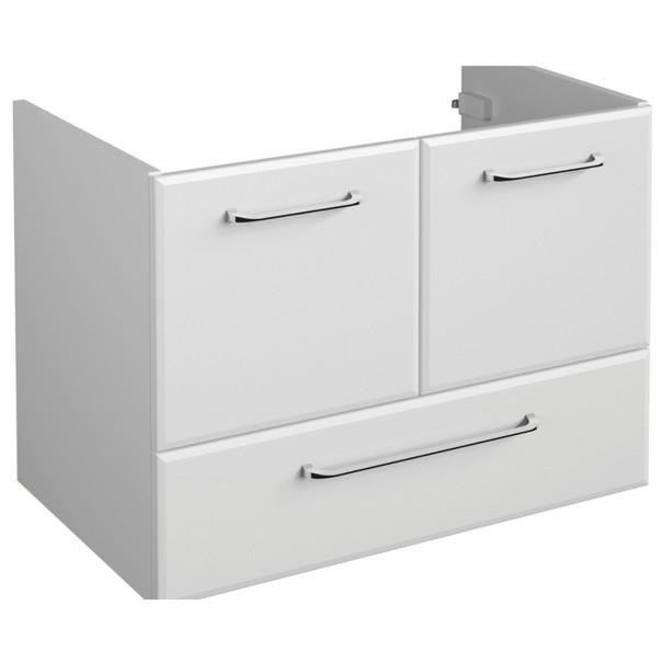 Sconto Umyvadlová skříňka FILO bílá vysoký lesk