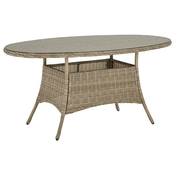 Sconto Zahradní stůl FLORENZ2 II hnědá