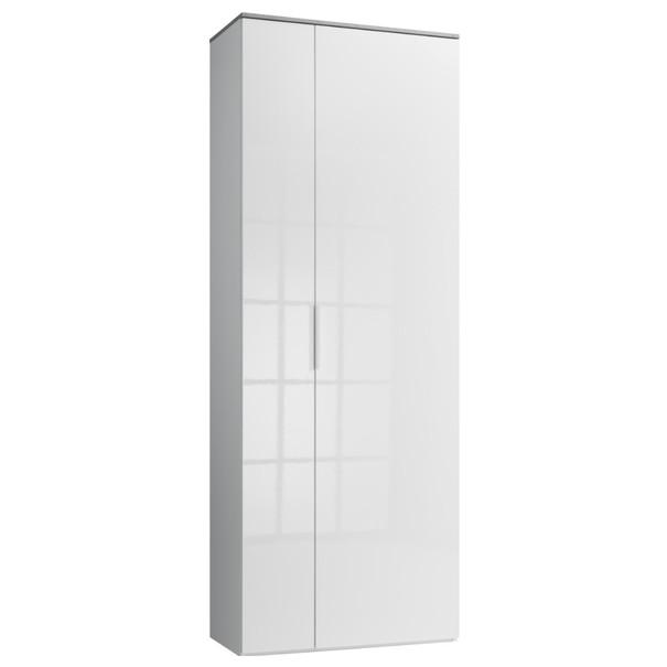Sconto Skříň GAVERA bílá/beton