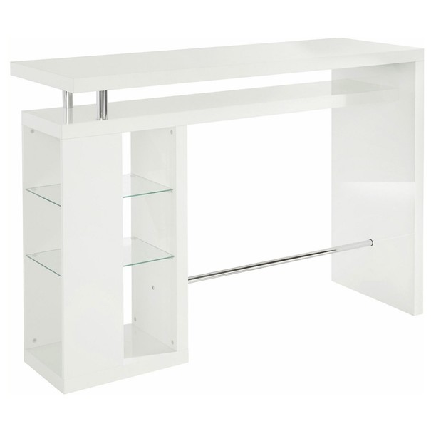 Sconto Barový stůl GLAWI bílá