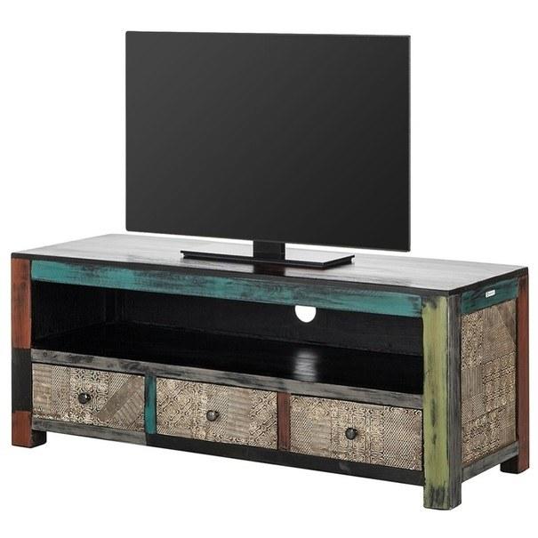 Sconto TV stolek GOA 3507 mangovník/akácie
