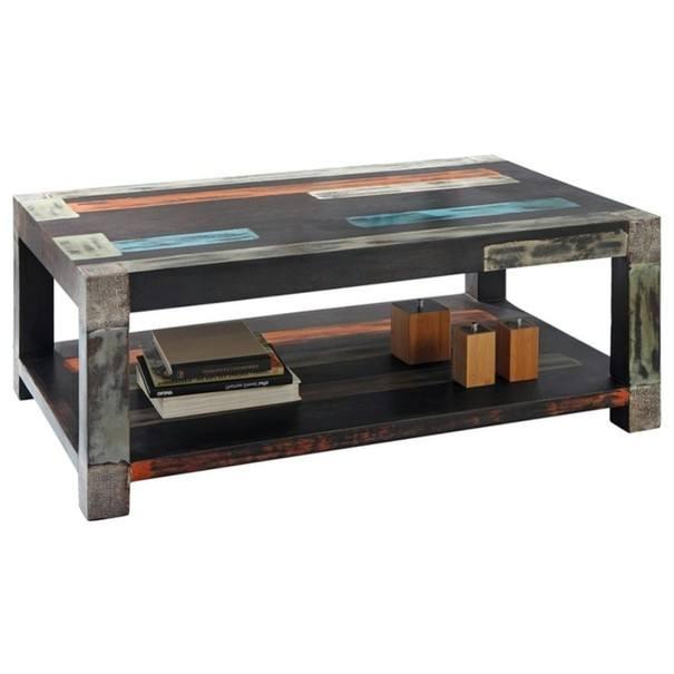 Sconto Konferenční stolek GOA 3512 mangovník/akácie