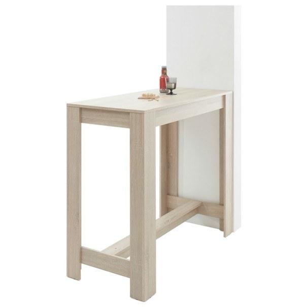 Sconto Barový stůl HUGO dub sonoma