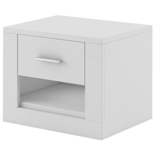 Sconto Noční stolek IDEA bílá