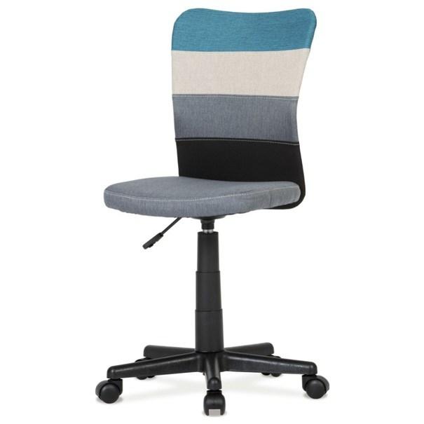 Sconto Otočná stolička IRWIN mix barev modrá