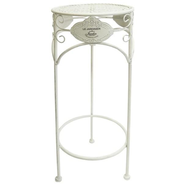 Sconto Zahradní stolek JARDINE VI bílá
