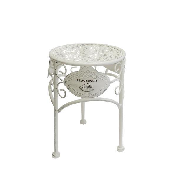 Sconto Zahradní stolek JARDINE ø 20 cm, výška 28 cm