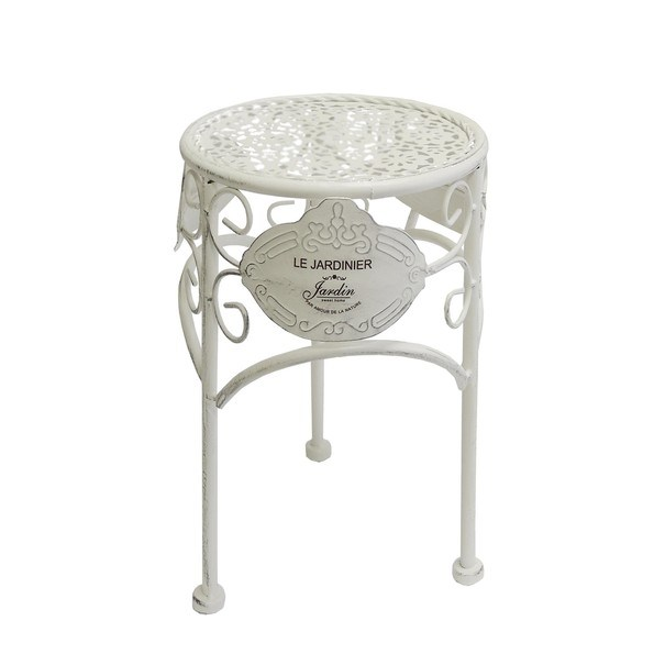 Sconto Zahradní stolek JARDINE ø 25 cm, výška 33 cm