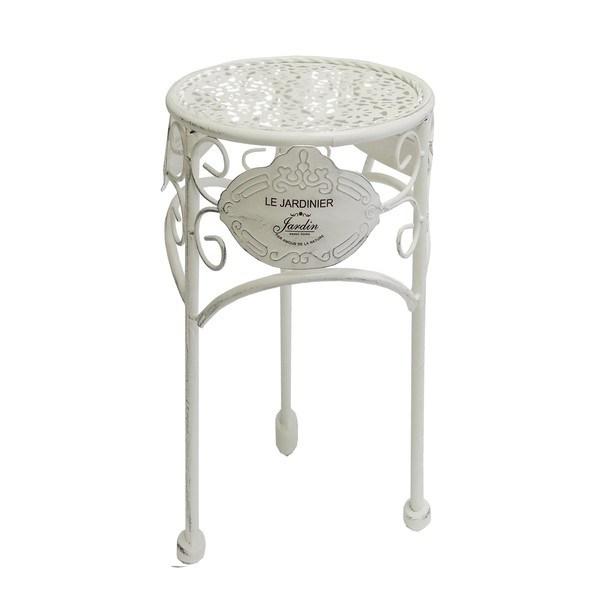 Sconto Zahradní stolek JARDINE ø 30 cm, výška 38 cm