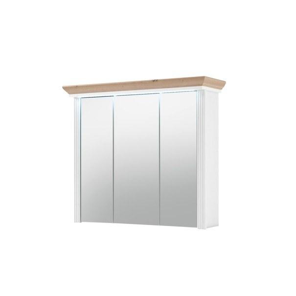Sconto Zrcadlová skříňka JASMIN pinie/dub artisan