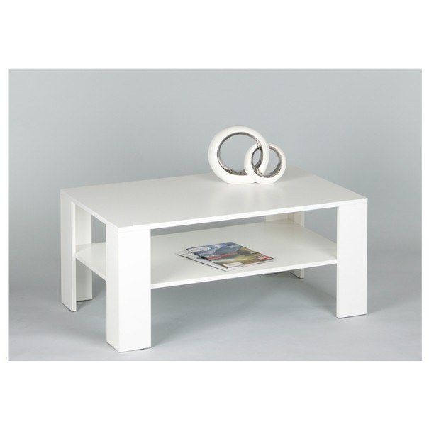 Sconto Konferenční stolek JOKER 66 bílá