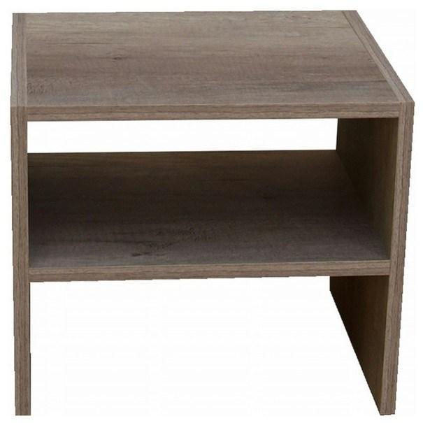 Sconto Přístavný stolek JULIA dub canyon