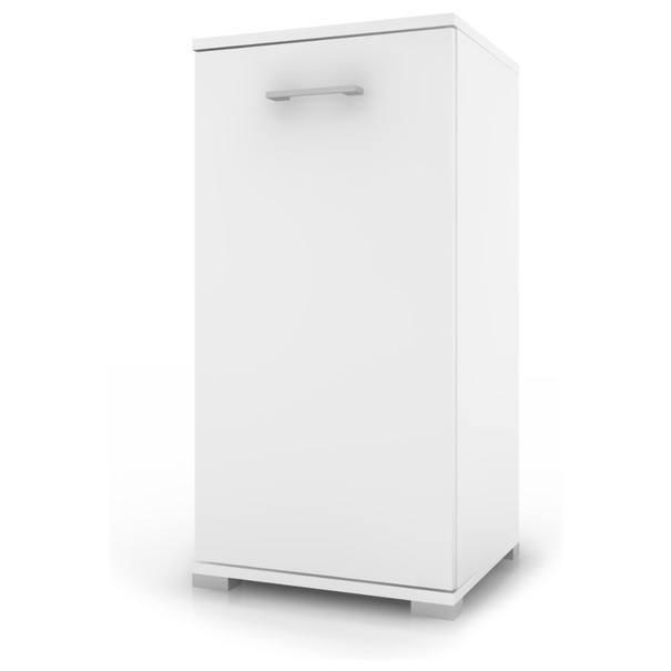 Sconto Prádelní skříňka s košem LARA II bílá