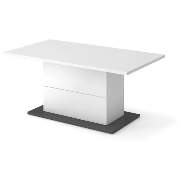 Sconto Konferenční stolek LINE bílá/grafit