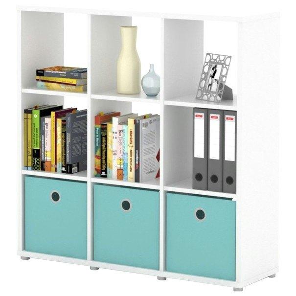 Sconto Regál/knihovna LITE RM33 bílá
