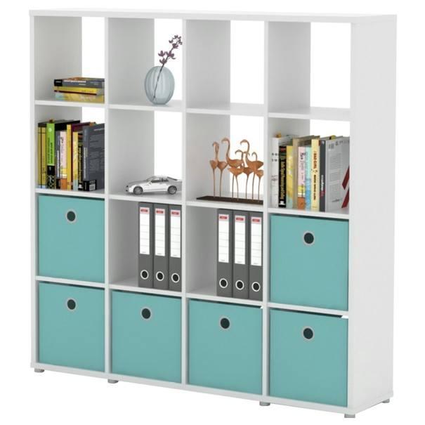 Sconto Regál/knihovna LITE RM44 bílá