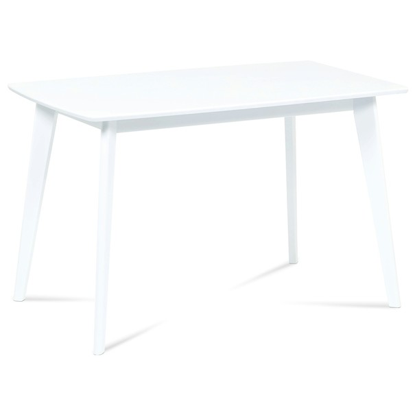 Sconto Jídelní stůl LUCAS bílá