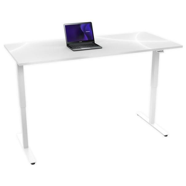 Sconto Psací stůl MAJA 5500 9734 bílá/vysoký lesk
