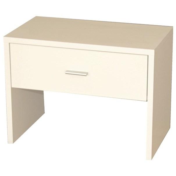Sconto Odkládací stolek MAJA bílá