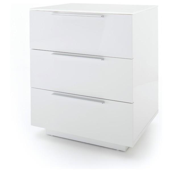 Sconto Noční stolek ODON II bílá