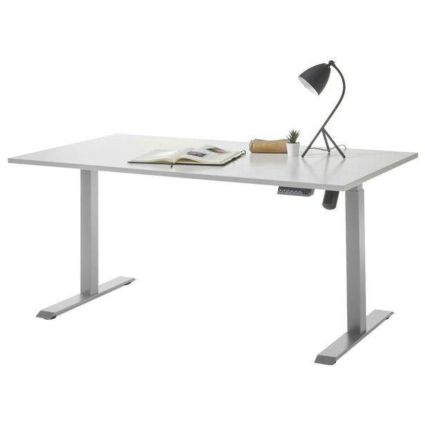 Sconto Psací stůl PROTON světle šedá