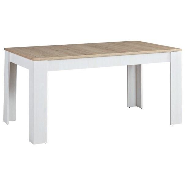 Sconto Jídelní stůl ROMANCE 83 modřín/dub san remo