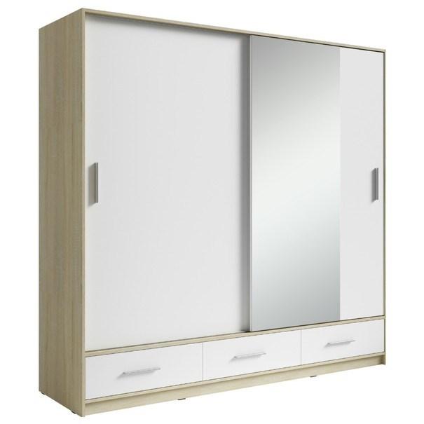 Sconto Šatní skříň SAFI 180 cm