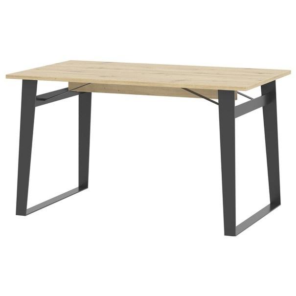 Sconto Jídelní stůl SOFT LT16 dub artisan/černá