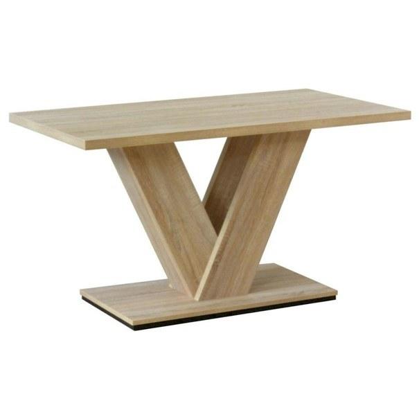 Sconto Jídelní stůl VITORI dub sonoma