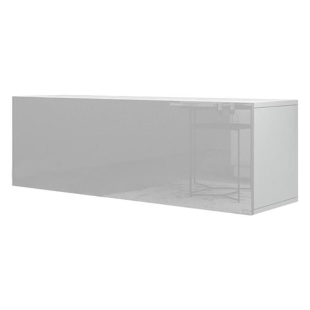 Sconto TV komoda VIVO VI 2 LED bílá vysoký lesk