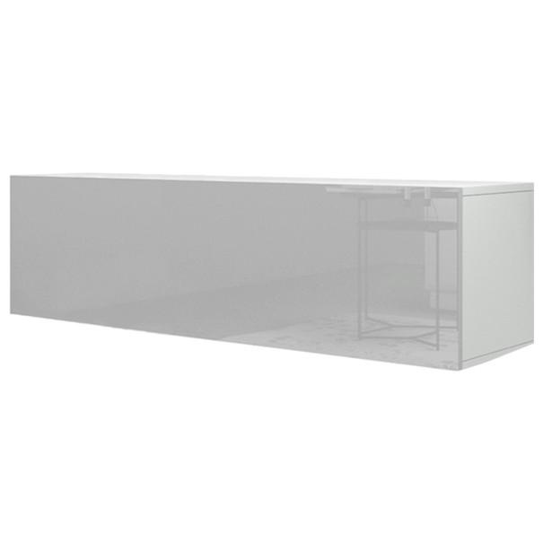 Sconto TV stolek VIVO VI 3 bílá, vysoký lesk