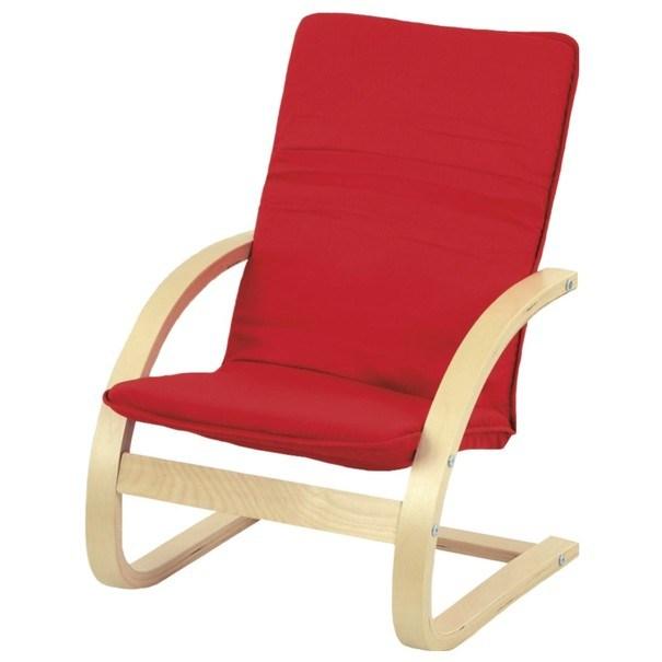 Sconto Dětské relaxační křeslo WILLY červená