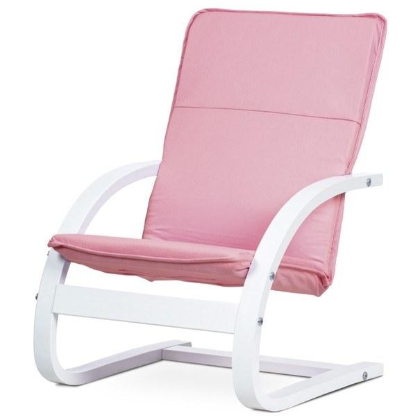Sconto Dětské relaxační křeslo WILLY růžová