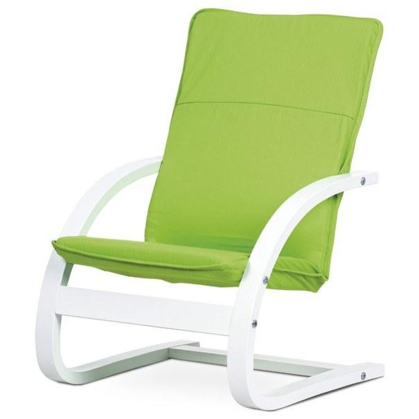 Sconto Dětské relaxační křeslo WILLY zelená