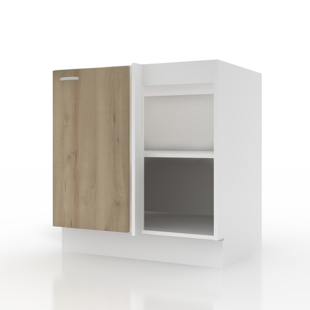 Sconto Spodní skříňka POLAR II buk/bílá, 80 (100) cm