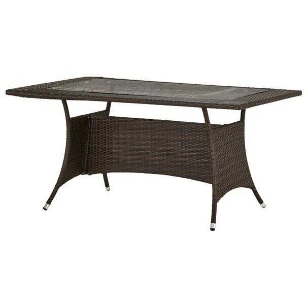 Sconto Zahradní stůl MODENA 4 mocca