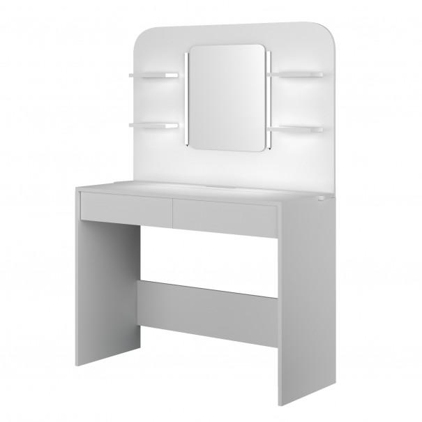 Sconto Toaletní stolek MISTERE bílá